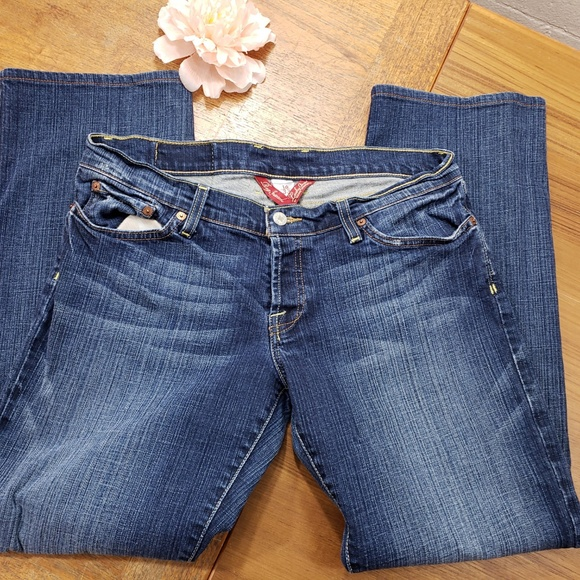 1275356345 Lucky Brand Denim - Lucky Brand Skipper Maddy Straight Size 33